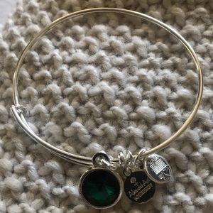 Alex & Ani Emerald Bracelet